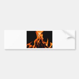 Abstraktes Feuer Autoaufkleber