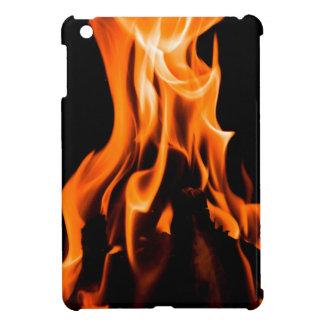 Abstraktes Feuer iPad Mini Hülle