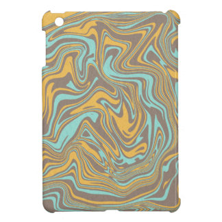 Abstraktes flüssiges Muster iPad Mini Hülle