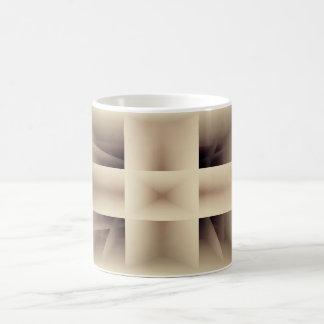 Abstraktes Formmuster Kaffeetasse