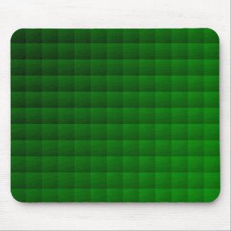 Abstraktes geometrisches Grün des Muster-| Mousepads