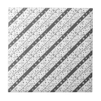 Abstraktes geometrisches Muster Fliese