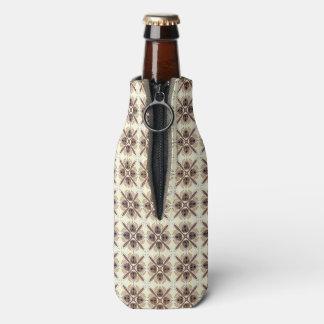 Abstraktes geometrisches retro nahtloses Muster Flaschenkühler