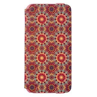 Abstraktes geometrisches retro nahtloses Muster Incipio Watson™ iPhone 6 Geldbörsen Hülle