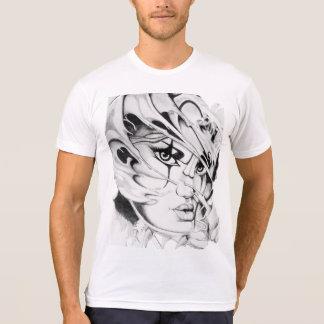 Abstraktes Gesicht T-Shirt
