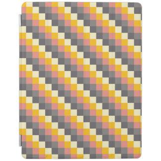 Abstraktes Gitter-Farbmuster iPad Hülle