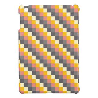Abstraktes Gitter-Farbmuster iPad Mini Hülle
