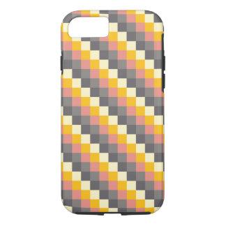 Abstraktes Gitter-Farbmuster iPhone 8/7 Hülle