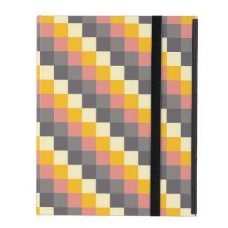 Abstraktes Gitter-Farbmuster Schutzhülle Fürs iPad