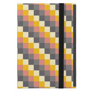 Abstraktes Gitter-Farbmuster Schutzhülle Fürs iPad Mini