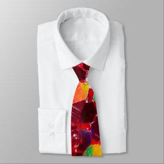 Abstraktes glänzendes Glittermuster des roten Krawatte