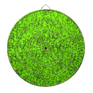 abstraktes Grün Dartscheibe