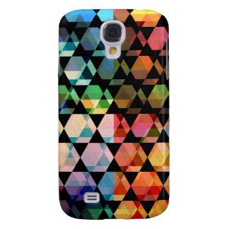 Abstraktes Hexagon-grafischer Entwurf Galaxy S4 Hülle