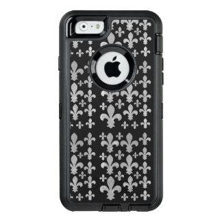 Abstraktes kariertes graues OtterBox iPhone 6/6s hülle