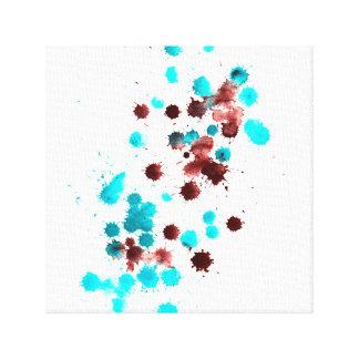 Abstraktes Kopieren Leinwanddruck