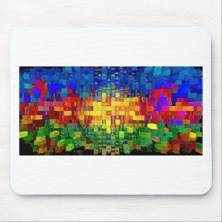 Abstraktes Kunstmalereiplakat-Hüllenen-T - Shirts  Mousepads