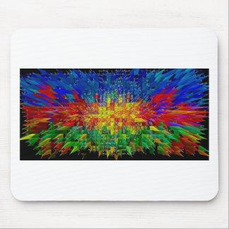 Abstraktes Kunstmalereiplakat kardiert T-Shirts Mousepad