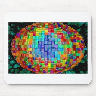Abstraktes Kunstmalereiplakat-T - Mousepad