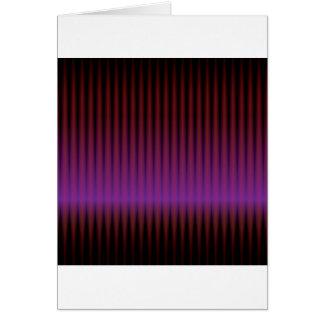 abstraktes lila techno grußkarte