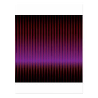 abstraktes lila techno postkarte