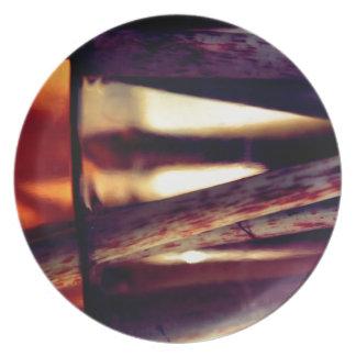 Abstraktes Makro Teller