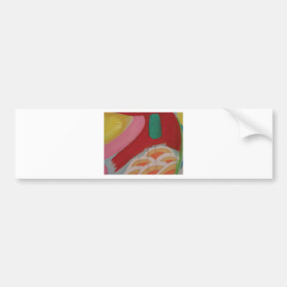 Abstraktes Malerei-Detail Autoaufkleber