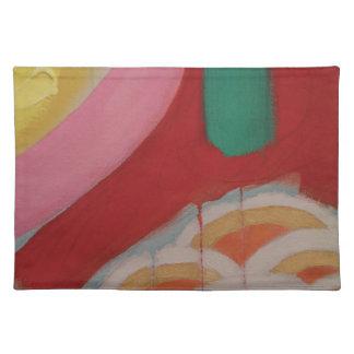 Abstraktes Malerei-Detail Tischset
