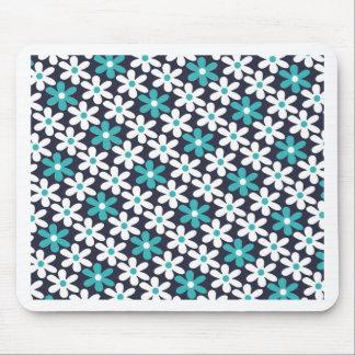 abstraktes Muster der Blume Mousepad