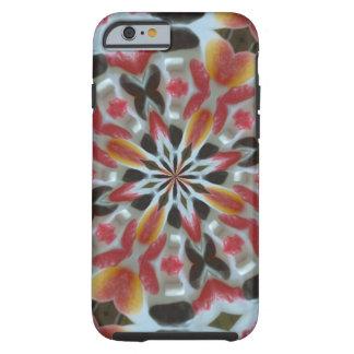 Abstraktes Muster der Süßigkeit Tough iPhone 6 Hülle