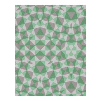 abstraktes Muster 21,6 X 27,9 Cm Flyer