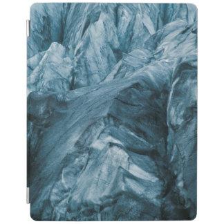 Abstraktes Muster in Gletscher | Island iPad Hülle