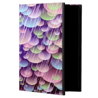 Abstraktes Muster-lila Regen-Wolken