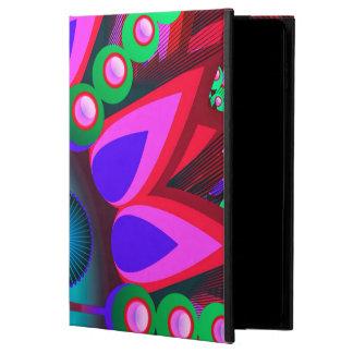 Abstraktes Muster lila und blau