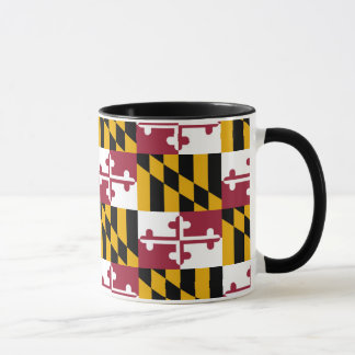 Abstraktes Muster Marylands Tasse