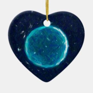 Abstraktes Nebulla mit galaktischem kosmischem Keramik Ornament