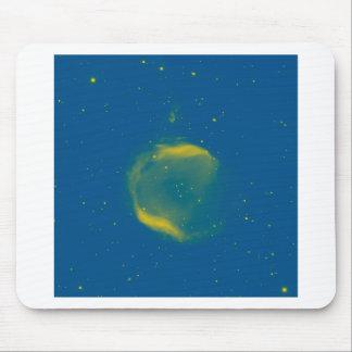 Abstraktes Nebulla mit galaktischer kosmischer Mousepad