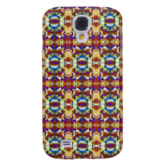 Abstraktes Pansy-Blumen-Fraktal Galaxy S4 Hülle