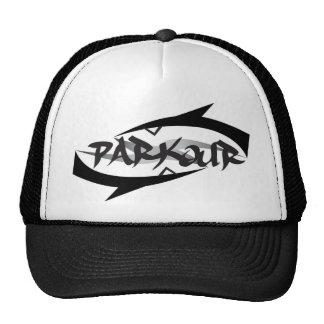 Abstraktes Parkour Kult Cap