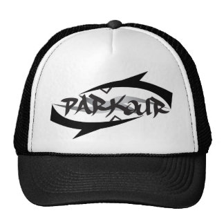 Abstraktes Parkour Truckercap