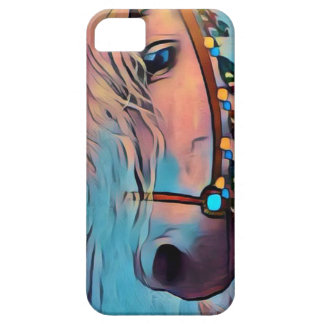 Abstraktes Pferd iPhone 5 Hülle