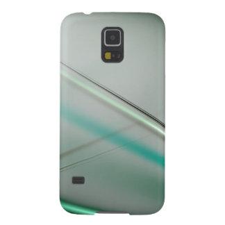 Abstraktes Sammlungsthema 3 des Türkises Galaxy S5 Hüllen