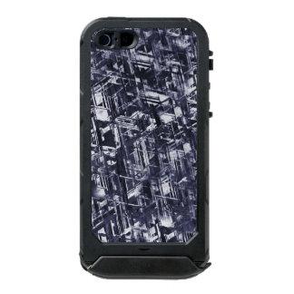 Abstraktes schroffes Meteorit-Muster Incipio ATLAS ID™ iPhone 5 Hülle