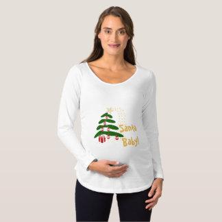 Abstraktes Schwangerschafts T-Shirt