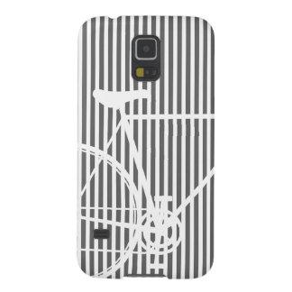 Abstraktes Schwarzweiss-Fahrrad Galaxy S5 Hülle