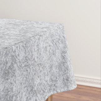 Abstraktes silbernes Papier Tischdecke