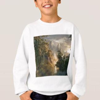 Abstraktes Stadt-Königreich-Licht Sweatshirt