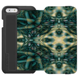 Abstraktes Stammes- Muster Incipio Watson™ iPhone 6 Geldbörsen Hülle
