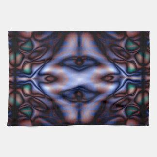 Abstraktes Stammes- Muster Küchentuch