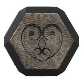 Abstraktes Steampunk Herz Schwarze Bluetooth Lautsprecher