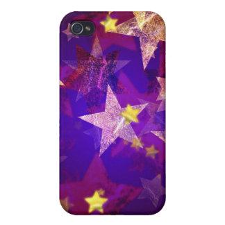Abstraktes Sterne 2 iPhone 4 Hüllen